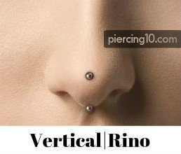 Piercing Vertical Rino