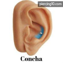 piercing concha
