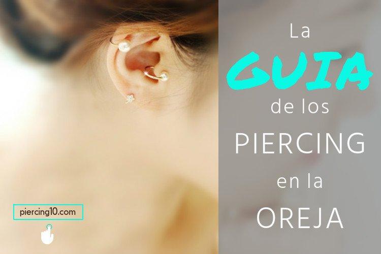 Cuidados para un piercing en el cartilago de la oreja
