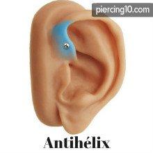 piercing antihélix