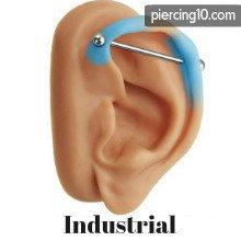 Piercing Industrial O Transversal 3 Mejores Opciones