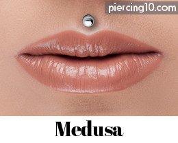 piercing labret superior