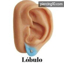 piercing lobulo