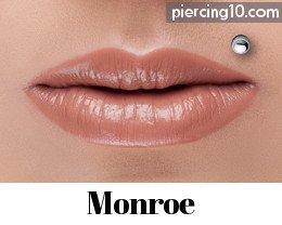 Piercing En El Labio 16 Opciones Incluyendo El Labret